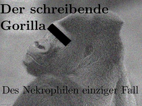 Der schreibende Gorilla